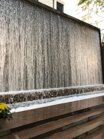 Paley Park waterfall