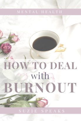 How to deal with burnout, depression and mental health