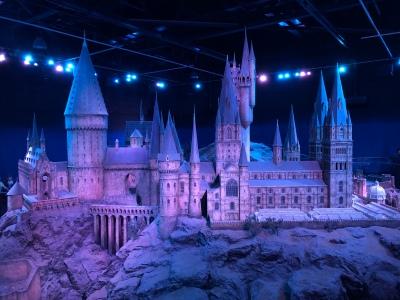 The insanely impressive model of Hogwarts