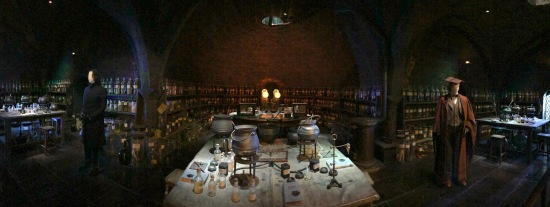 Snape's potion room