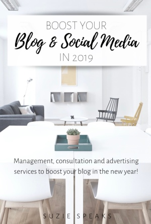 Social media management, advertising and blog consultation services