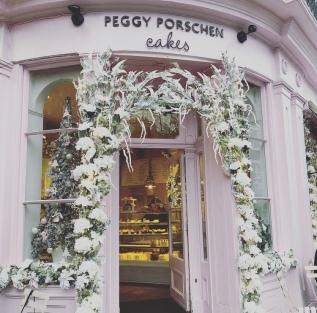 The Peggy Porschen Cakes frontage 2