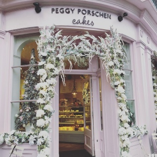 The Peggy Porschen Cakes frontage 2