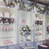 The Peggy Porschen Cakes interior
