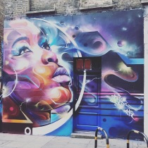 Street art tour of Shoreditch, London