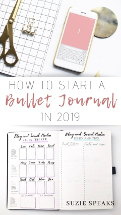 How to Start a Bullet Journal in 2019
