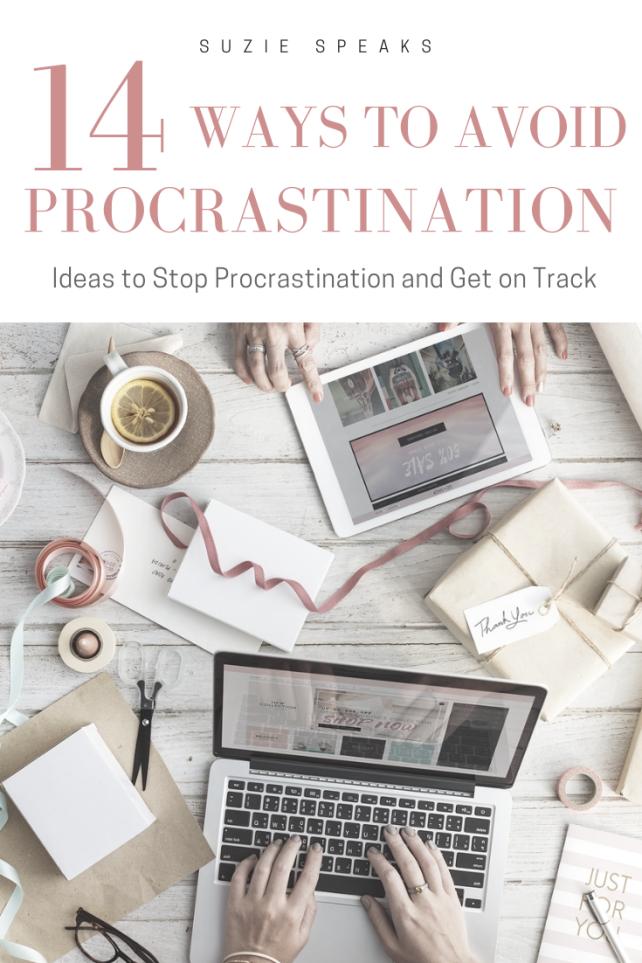 14 Ways to Avoid Procrastination