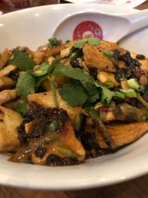Black bean tofu