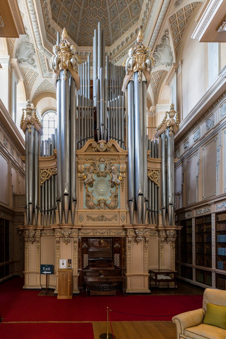 Blenheim Palace Organ