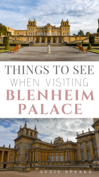 Things to See and Do When Visiting Blenheim Palace
