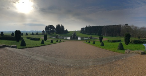 A Pano of the grounds at Witley Court