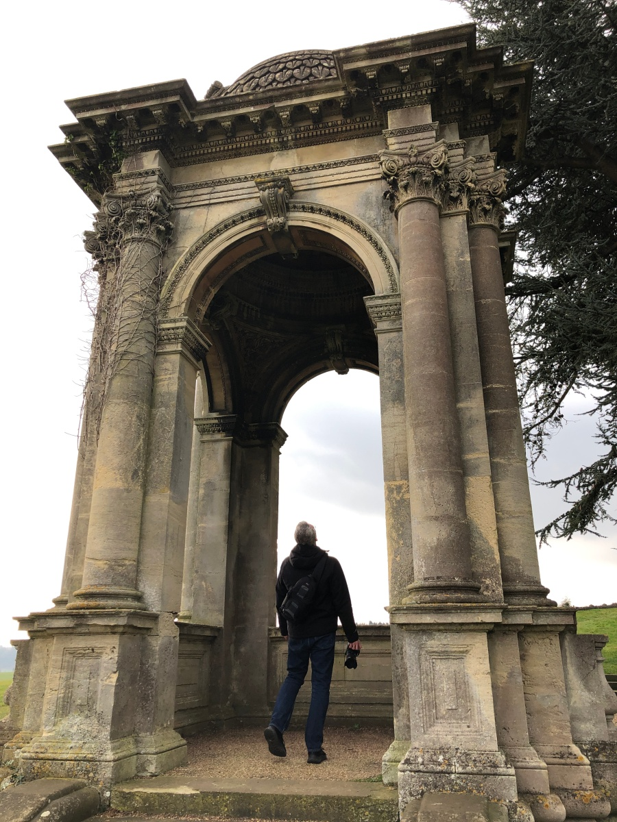 Witley Court Stone Temple