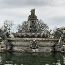 Witley Court The Damaged Flora Fountain