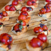 Healthy canapes - Photo by Duncan Walker