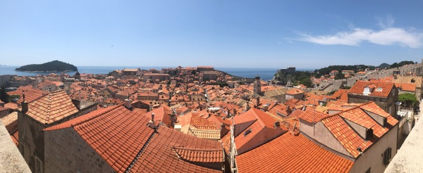 Walking the Walls of Dubrovnik