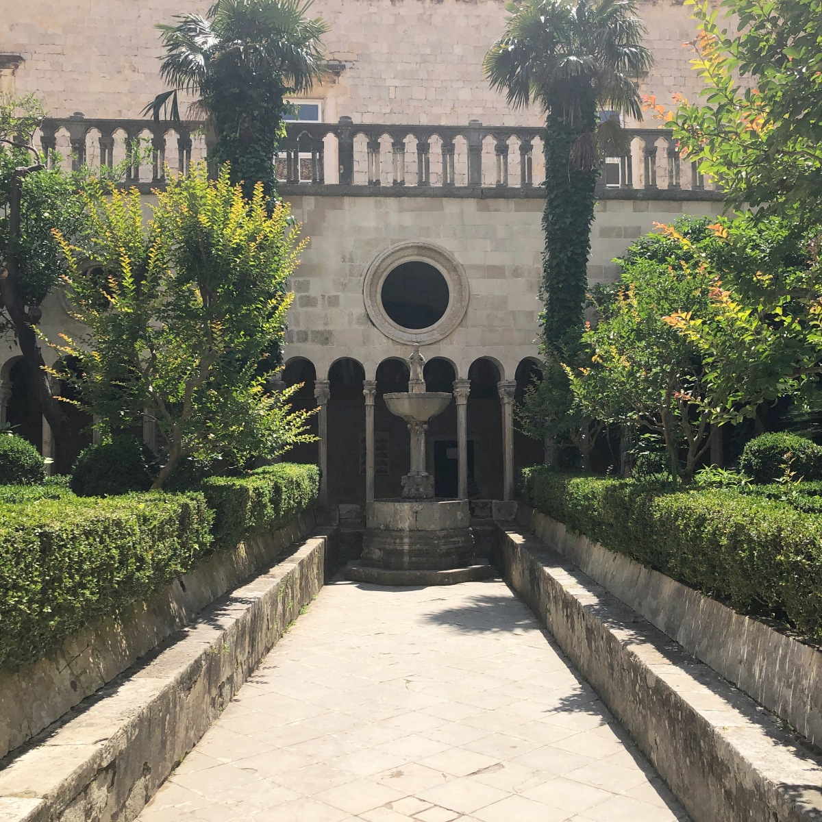 Cloisters at the Franciscan Monastery Dubrovnik