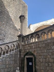 Pile Gate Steps Dubrovnik