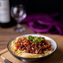 Duncan Walker Food Photography Spag Bol