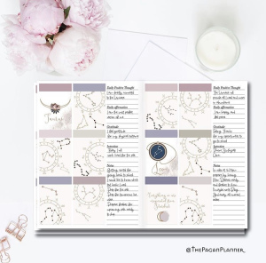 Gratitude Journal Spread Ideas by The Pagan Planner