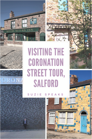 Visiting the Coronation Street Tour