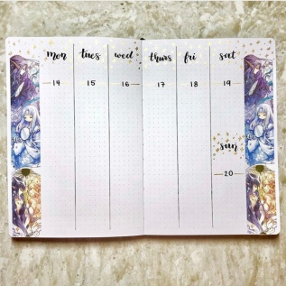Great Bullet Journal Spread Ideas for January Bujo Escape