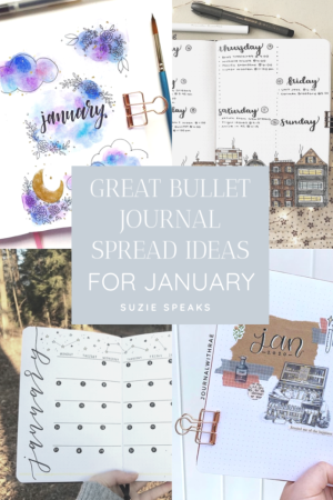Great Bullet Journal Spread Ideas for January