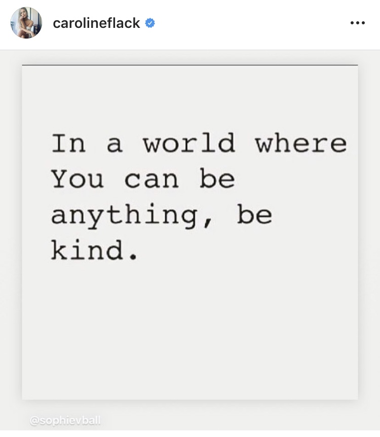 In a world where you can be anything…