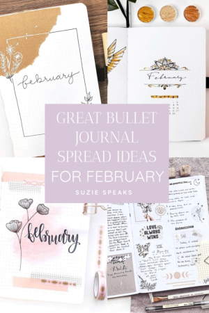 Great Bullet Journal Spread Ideas for February
