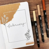Great February Bullet Journal Ideas Annie Zhang