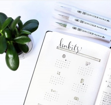 Great February Bullet Journal Ideas Habit Tracker Journal Away