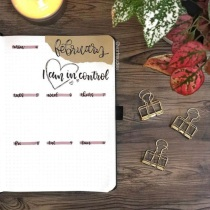 Great February Bullet Journal Ideas Weekly Spread Vorfreudes
