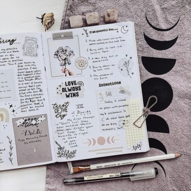 Great February Bullet Journal Spread Ideas Gratitude and Intentions