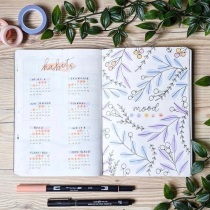 Great Bullet Journal Spread Ideas for April Habit Tracker Shouthuzzardoodles