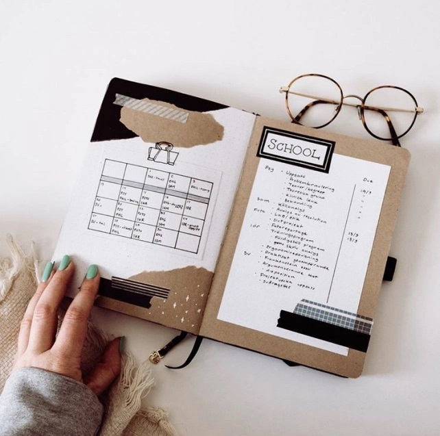 Great Bullet Journal Spread Ideas for April