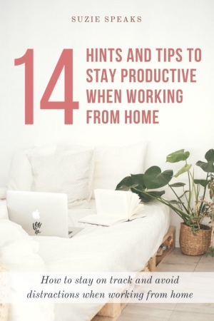 14 Hints and Tips to Stay Productive When Working From Home 1