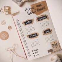 Great Bullet Journal Spread Ideas for May Letters By Niks