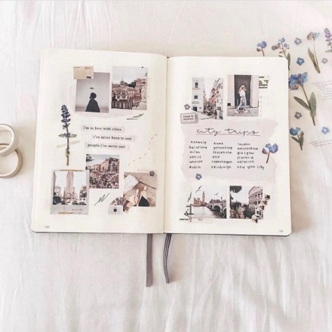 Great Bullet Journal Spread Ideas for May Travel Planning Memories
