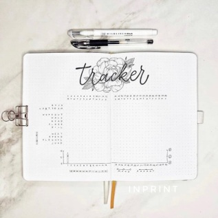 Great Bullet Journal Spread Ideas for June Habit Tracker Aska Inprint
