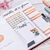 Great Bullet Journal Spread Ideas for June Monthly Spread My Blossom Journal