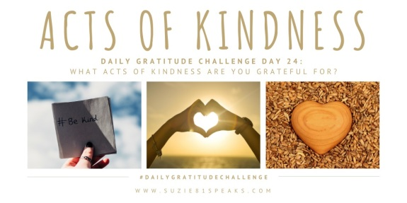 Daily Gratitude Challenge Acts of Kindness