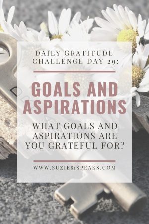 Daily Gratitude Challenge Goals and Aspirations 1