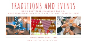 Daily Gratitude Challenge Traditions and Events