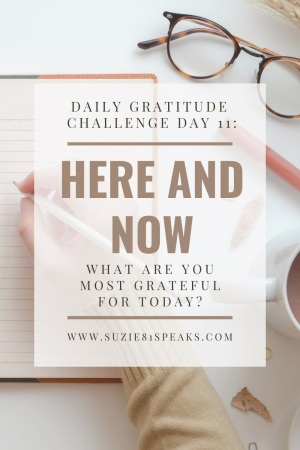 Daily Gratitude Challenge What are you most grateful for today