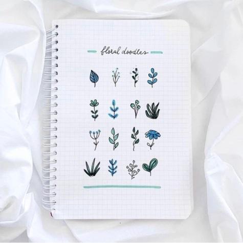 Great Bullet Journal Spread Ideas for September Doodles Handletteringspiration