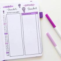 Great Bullet Journal Spread Ideas for September Habit Tracker Naomi Journals