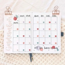 Great Bullet Journal Spread Ideas for September Monthly Spread Veronica Journals