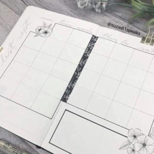 Great Bullet Journal Spread Ideas for September Monthly Task Spread