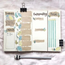 Great Bullet Journal Spread Ideas for September Weekly Spread ReginaxxJournal