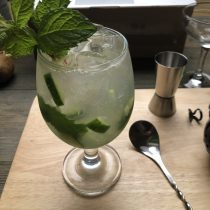 Vodka Garden Cocktail