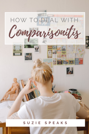 How to deal with comparisonitis 1
